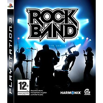 Rock Band - spel enige (PS3)