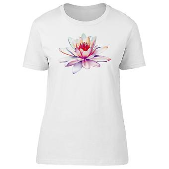 Pink Gradient Lotus Flower Tee Men's -Image by Shutterstock