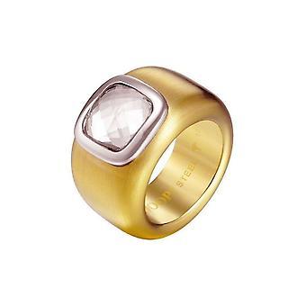 Joop vrouwen ring edelstaal goud CORA JPRG10629B1
