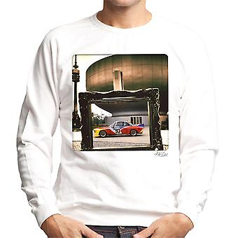 BMW Art Car Alexander Calder Men's Sweatshirt