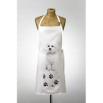 Adorable Bichon Frise Design Apron