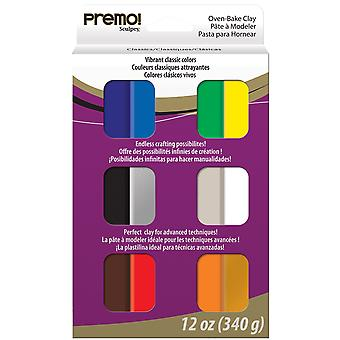 Premo Sculpey Polymer Clay Multipack 1oz 12/Pkg-Classic