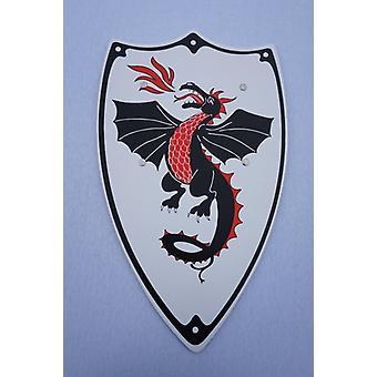 Dragon plate rustning ridder Edelmann barn drakt