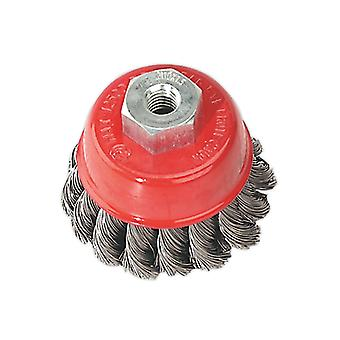 Sealey Tkcb65 Twist Knot Wire Cup Brush