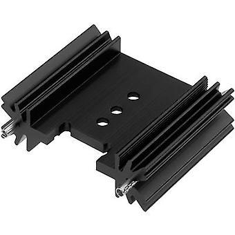 PIN Kühlkörper 7 C/W (L x b x H) 38,5 x 45 x 12,7 mm bis 220, bis 218, 3P CTX thermische Lösungen CTX/409/38 + PIN