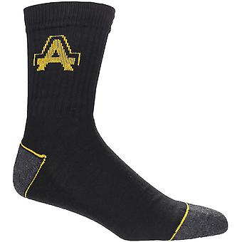 Amblers Safety Mens & Womens Heavy Duty Work Socks 3 pack