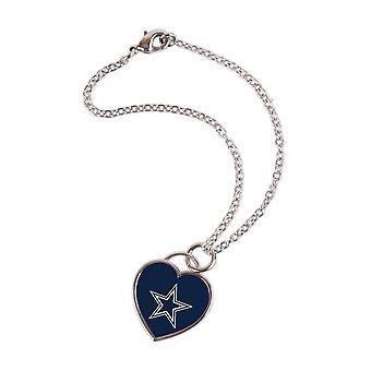 Wincraft ladies 3D heart bracelet - NFL Dallas Cowboys