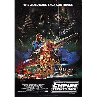 Poster di Star Wars Impero colpisce indietro giapponese mi.
