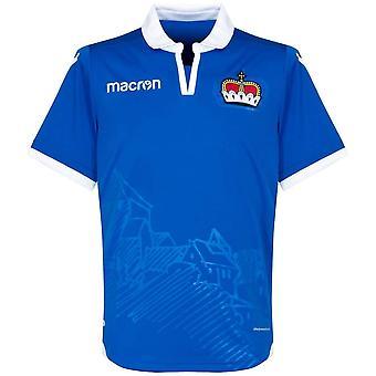 2018-2019 Liechtenstein Home Macron Football Shirt
