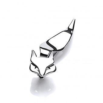 Cavendish francese Snooty Fox Spilla argento
