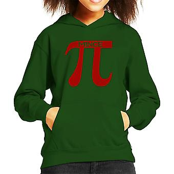 Christmas Mince Pi Kid's Hooded Sweatshirt