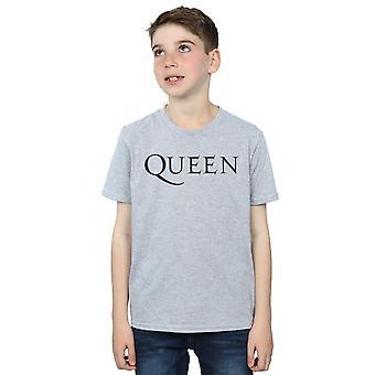 Queen Boys Mono Logo T-Shirt