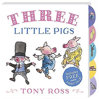 My Favourite Fairy Tale Board Book - Three Little Pigs by Tony Ross -