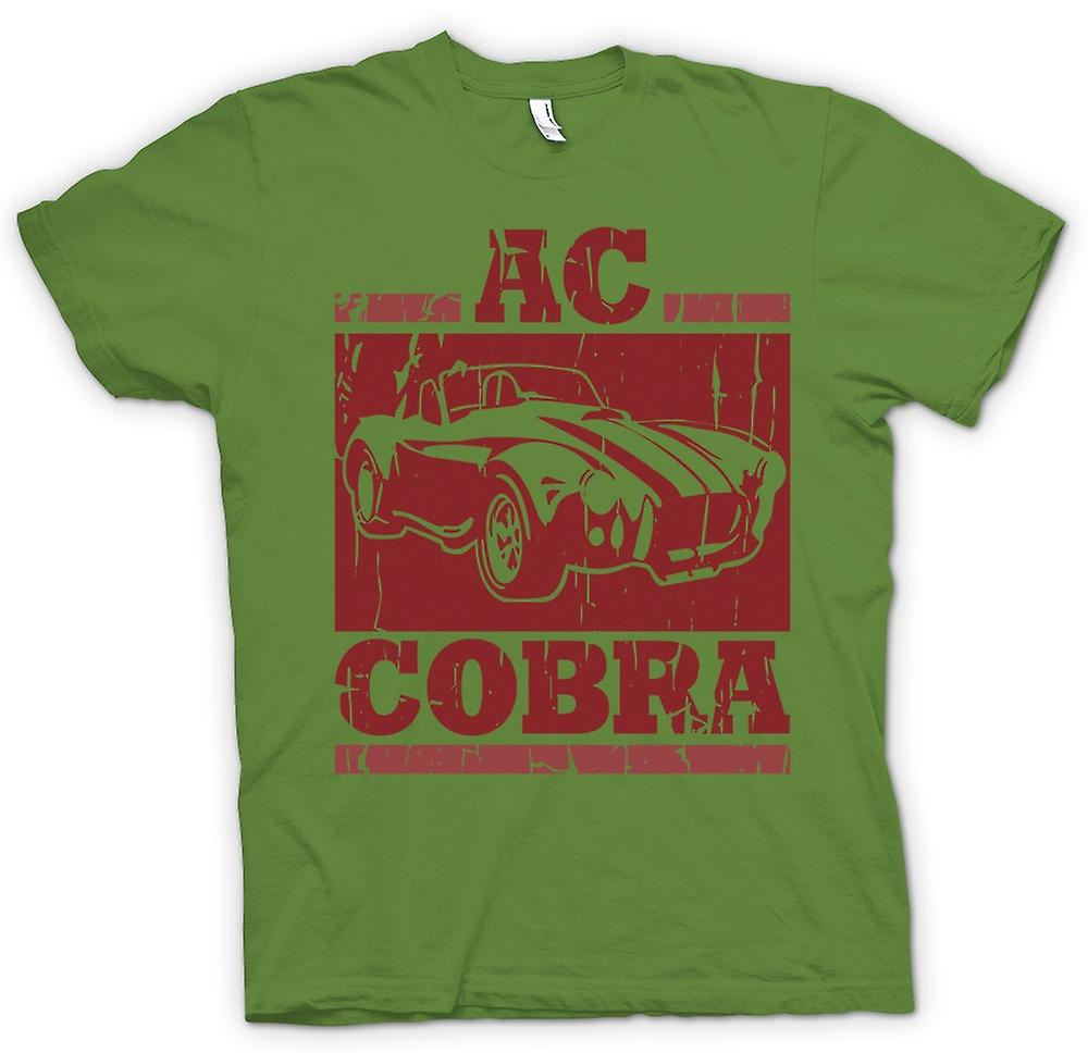 Mens t-shirt-AC Cobra Super Car