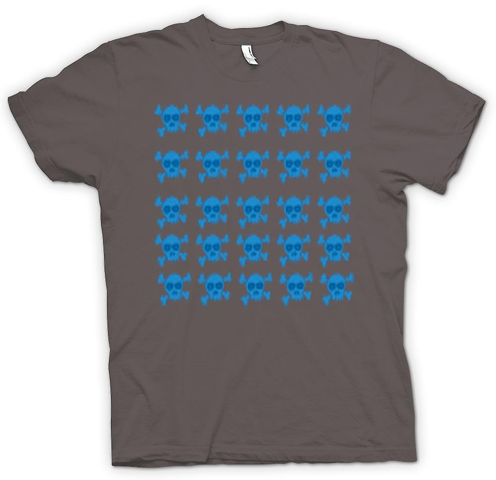 Mens T-shirt - Skull & Cross Bones Pattern Design