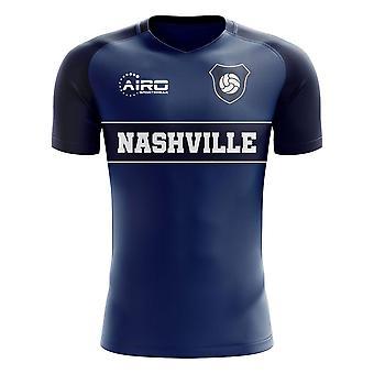 2019-2020 Nashville Home Concept Football Shirt - Kids