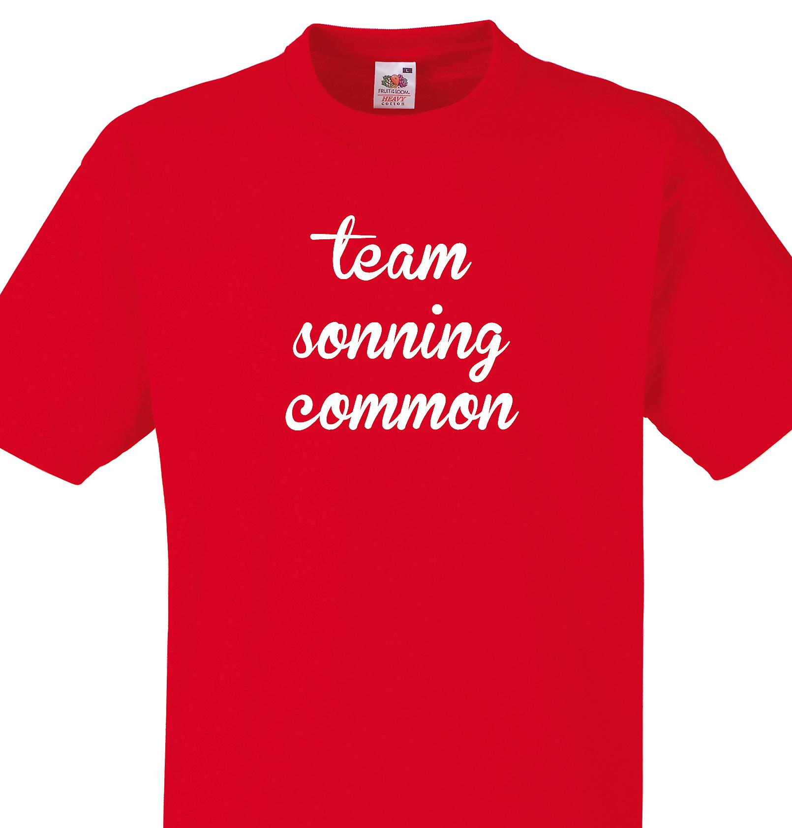Team Sonning common Red T shirt