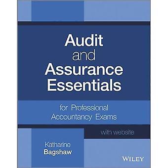 Auditoria e garantia Essentials, + Website: para os exames de contabilidade profissional