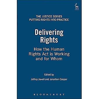 Assurer des droits: Comment la loi sur les droits de l'homme travaille et pour qui (The Justice Series: droits de mettre en pratique)