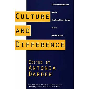 Cultura e diferença de perspectivas críticas sobre a experiência Bicultural nos Estados Unidos por Darder & Antonia
