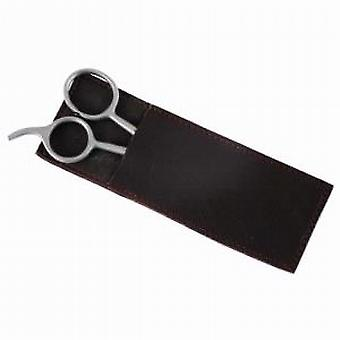 Grooming Scissors in Leather Case
