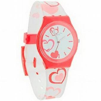 Identity London Heart Design White Girls Watch 283/9585