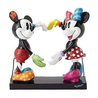 Britto Disney Mickey And Minnie Heart Figurine (Large)