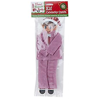 Elfes Behavin Badly - Elf Glitter Celebrity Outfit - Rose