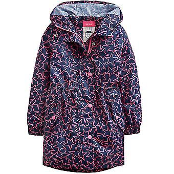Joules Girls Golightly Waterproof Packable Fashion Jacket