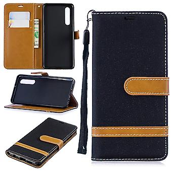 Huawei P30 Phone Case Protection Case Cover Card Case Black Huawei P30 Phone Case