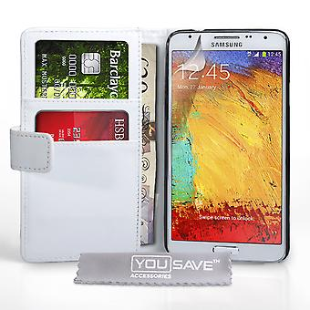 YouSave Samsung Galaxy Note 3 Neo LeatherEffect Wallet Case wit