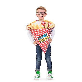 French fries bag chips costume child