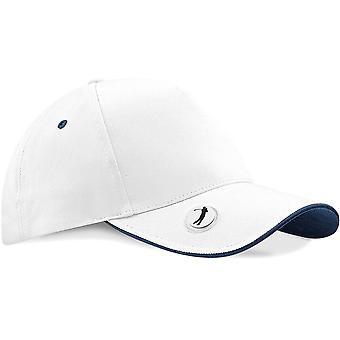 Beechfield - Pro-Style Ball Marker Golf Baseball Cap - Hat