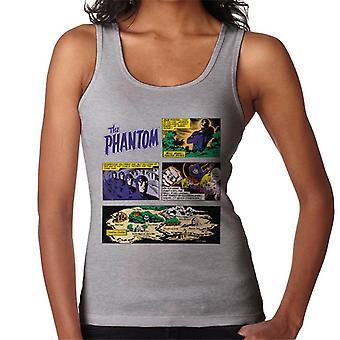 The Phantom Comic Montage Women's Vest