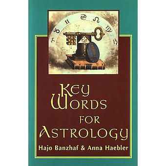 Key Words for astrology 9780877288756