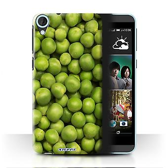 STUFF4 Case/Cover for HTC Desire 820q Dual/Green Garden Peas/Food