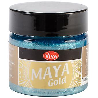 Viva Decor Maya Gold 50 Ml Turquoise Maya 65034