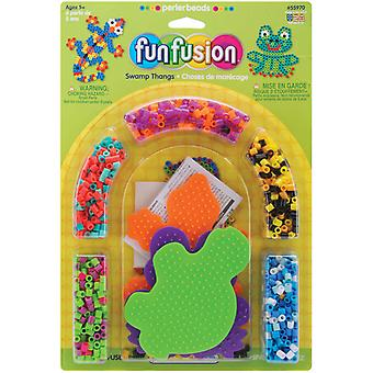 Perler Fun Fusion Fuse Bead Activity Kit Fun Fusion Swamp Thangs 559 70