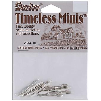 Timeless Miniatures Silverware 12 Pkg 2314 10
