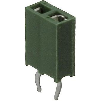 Receptacles (standard) AMPMODU HV-100 Total number of pins 8 TE Connectivity 215297-8 Contact spacing: 2.54 mm 1 pc(s)