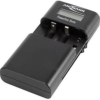 Camera charger Powerline Vario Ansmann 1001-0020 Matching rechargeable battery Li-ion, LiPolymer, NiMH