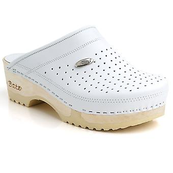 Batz FLEX High Quality Leather Womens Ladies Slip-on clogs