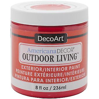 Americana Decor Outdoor Living Paint 8oz-Ladybug ADOL-04