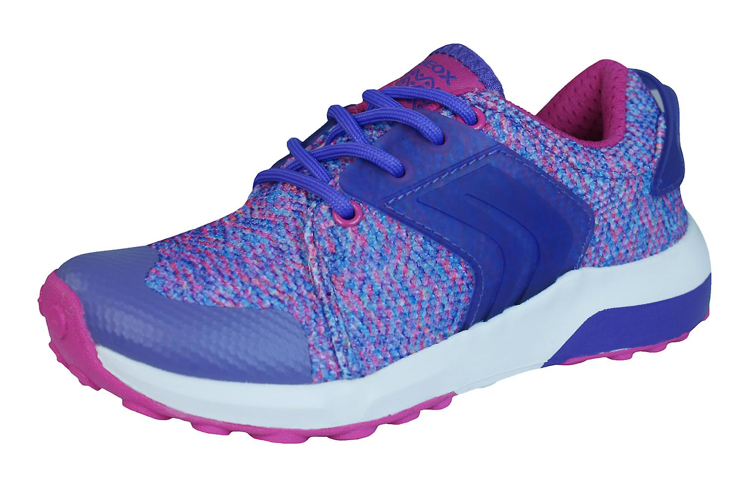Geox J Asteroid G Girls Trainers   chaussures - Fuchsia rose