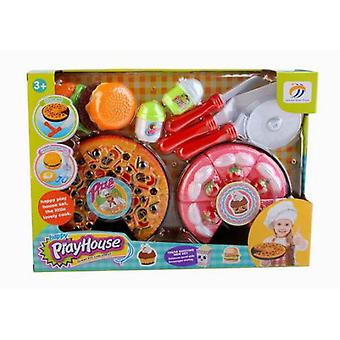 Import Set Pizza Pastel Con Accesorios