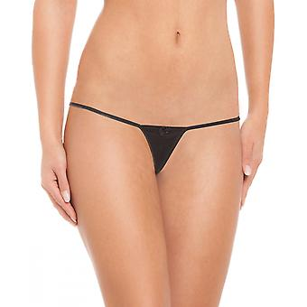 6 DAMES STRING THONGS TEKENREEKSEN INGESTELD TOP SLIPJE