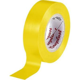 Electrical tape Coroplast Yellow (L x W) 25 m x 15 mm Acrylic Content: 1 Rolls