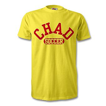 Chad calcio t-shirt