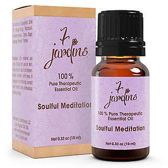 7 Jardins Soul Meditation Synergy Blender ★100% Pure Therapeutic Essential Oil