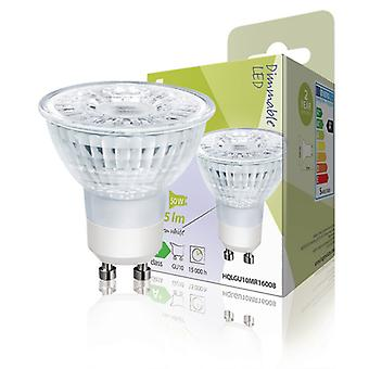 HQ halogenstil Dimmable GU10 led 5W MR16 in 345 lm 2 700 K